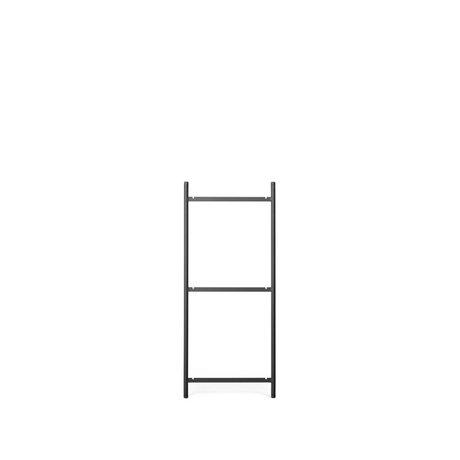 Ferm Living Kast Element Punctual  Ladder 3 Antraciet Gepoedercoat Staal 2x42x100cm
