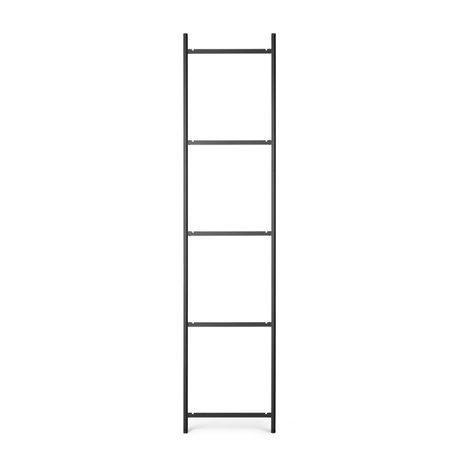Ferm Living Kast Element Punctual Ladder 5 Antraciet Gepoedercoat Staal 2x42x184cm