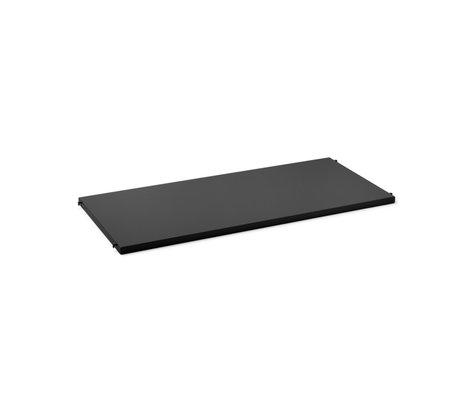 Ferm Living Kast Element Punctual Plank Antraciet Gepoedercoat Staal 90x39,6x2,3cmcm