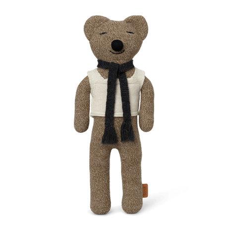 Ferm Living Knuffel Roy Teddy Multicolor Wol 20x5x40cm