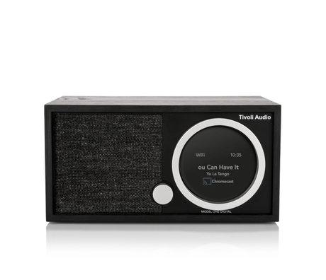 Tivoli Audio Tafel Radio Model One Digital Generation 2 Zwart Hout 11,4x22,1x13,9cm