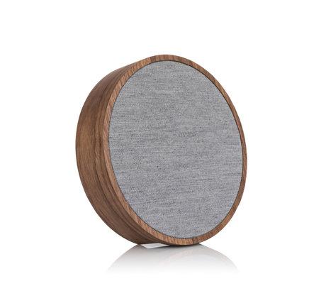 Tivoli Audio Wi-Fi / Bluetooth Speaker Sphera Generation 2 Bruin Grijs Hout 23x23x5,5cm