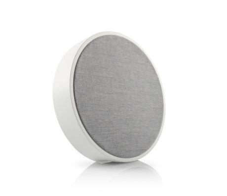 Tivoli Audio Wi-Fi / Bluetooth Speaker Sphera Generation 2 Wit Grijs Hout 23x23x5,5cm