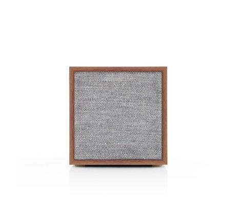 Tivoli Audio Wi-Fi / Bluetooth Speaker Cube Generation 2 Grijs Bruin Hout 11x11x11,7cm