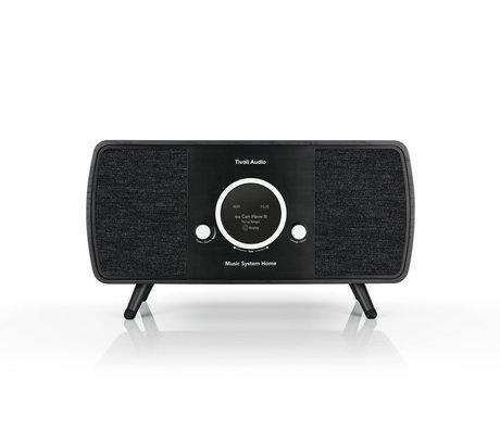 Tivoli Audio Audio Radio Music System Home Zwart Hout (17,7 exl. poten )22,1x41x16,5cm