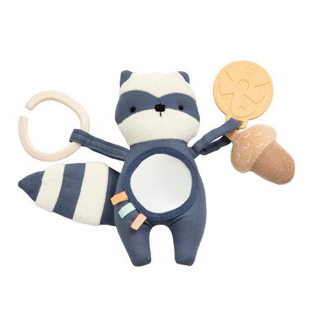 Sebra Speelgoed Rebel de Wasbeer Blauw Polyester 7x32cm