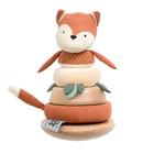 Sebra Speelgoed Stapel- en Kantel Sparky Fox Tail Katoen Hout 13,7x28,6cm