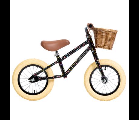 Banwood Kinderloopfiets By Marest First Go Allegra Zwart Multicolour 65x20x41cm