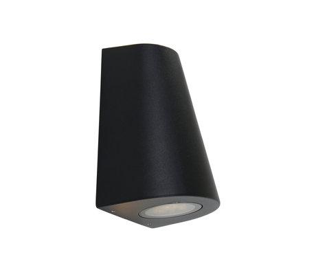 Steinhauer  Outdoor Wandlamp Logan Zwart Metaal 6/9x7,5/12,5x16cm