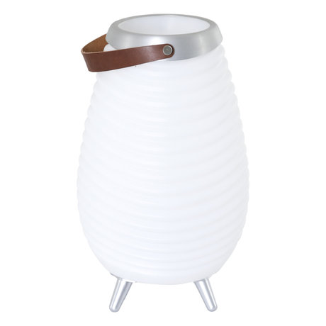Steinhauer  Outdoor Tafellamp Mexlite Cool Music Wit Kunststof ø28x43cm