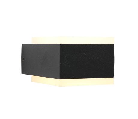 Steinhauer  Outdoor Wandlamp Cebu LED Zwart Metaal 13,2x9,2x6cm
