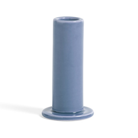 HAY Kandelaar Tube M Lavendel Aardewerk Ø5,5x10cm