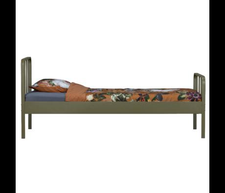 WOOOD Bed Mees Groen Metaal 95x208x90cm