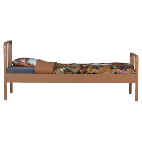 WOOOD Bed Mees Bruin Syrup Metaal 95x208x90cm