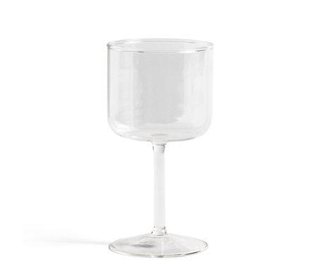 HAY Wijnglas Tint Transparant Glas 0,25L Ø7,5x15cm