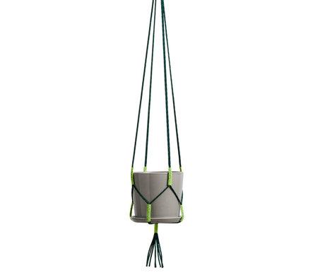 HAY Plantenhanger Phanta Groen Textiel 175cm