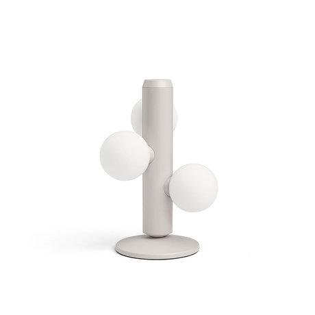 FÉST Tafellamp Kaktee Beige Metaal Glas Ø21x29cm