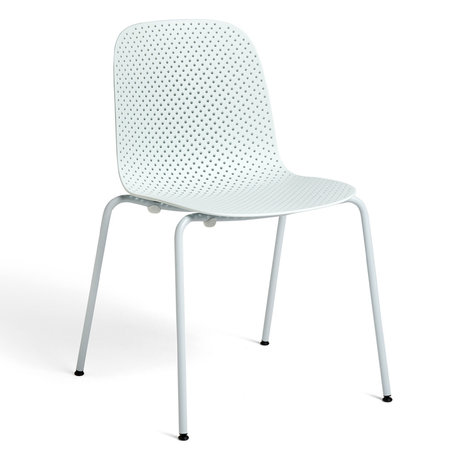 HAY Fauteuil 13EIGHTY Lichtblauw Staal 53x53x82cm