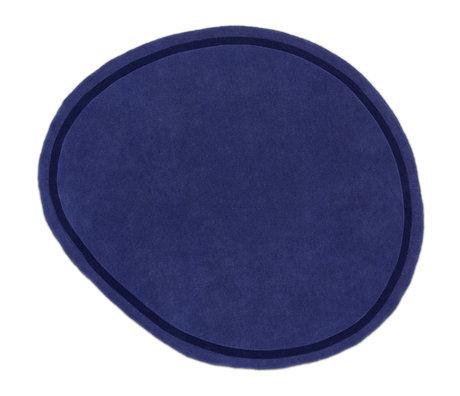 FÉST Vloerkleed Neo Blauw Wol 230x250cm