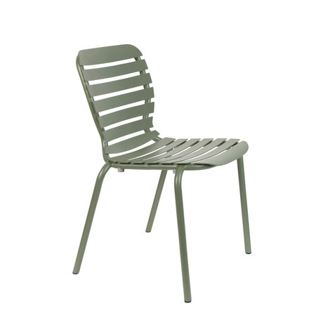 Zuiver Tuinstoel Vondel Groen Aluminium 55,1x58,2x82,5cm