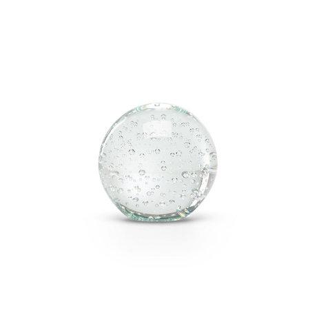 FÉST Ornament Oya Transparant Glas 9x10cm