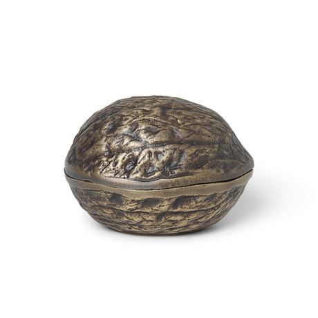 Ferm Living Opbergbakje Forest Nut Brons Aluminium 10,7x9,3x7,5cm