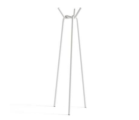 HAY Kapstok Knit Wit Staal 49,5x50,5x161,5cm