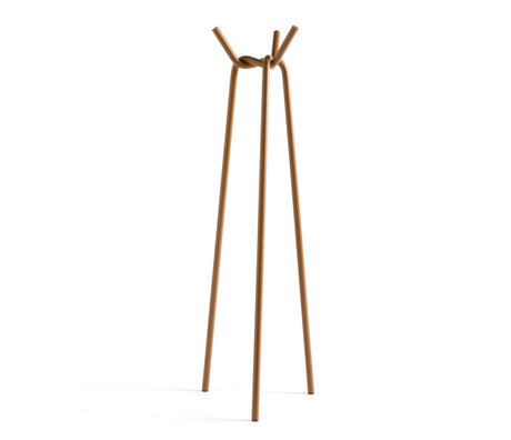 HAY Kapstok Knit Bruin Staal 49,5x50,5x161,5cm