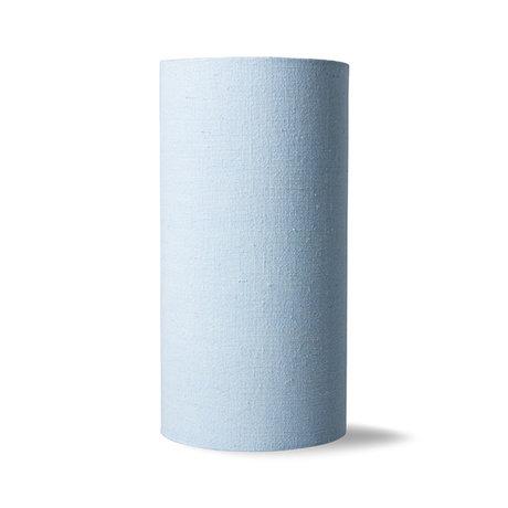 HK-living Lampenkap Ice Blauw Linnen 20x20x40cm