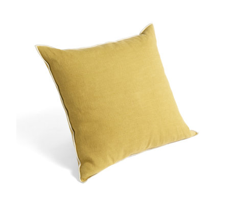 HAY Sierkussen Outline Mosterd Geel Textiel 50x50cm