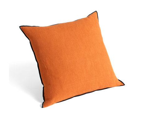 HAY Sierkussen Outline Oranje Geel Textiel 50x50cm