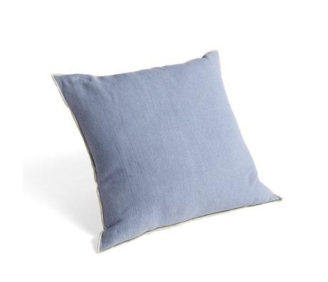 HAY Sierkussen Outline Lichtblauw Textiel 50x50cm