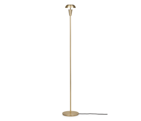 Ferm Living Vloer Lamp Tiny Goud Messing ø12x124,2cm