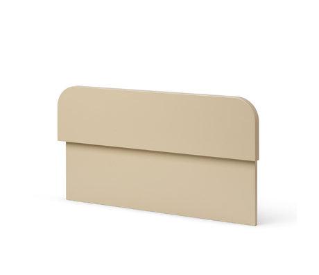 Ferm Living Bed Rail Junior Sill Cashmere Beige MDF 3.1x50x27cm