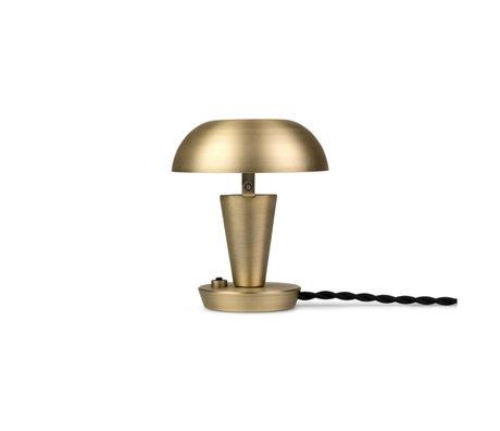 Ferm Living Tafel Lamp Tiny Goud Messing ø12x14cm