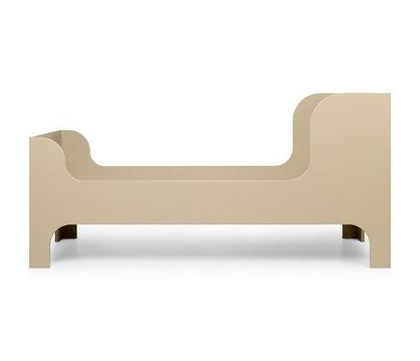 Ferm Living Bed Junior Sill Cashmere Beige MDF 76x166x80cm