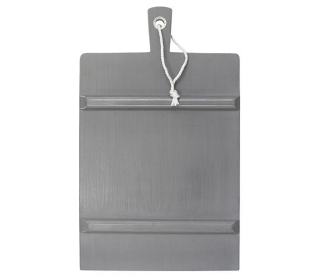HK-living 45x63cm carré gris GRAND Breadboard