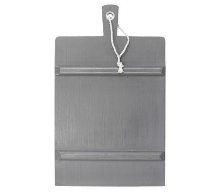 HK-living Breadboard LARGE gray square 45x63cm