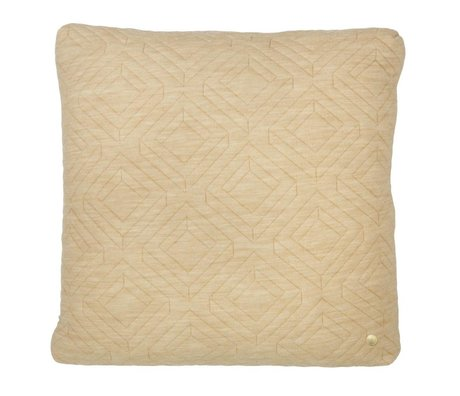 Ferm Living Cushion Quilted Camel 45x45cm