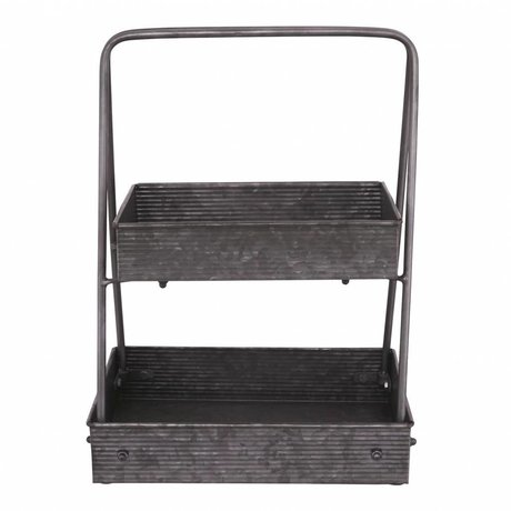 Nicolas Vahe Storage rack wood 40x24x37cm - Copy