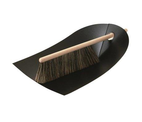 Normann Copenhagen Dustpan and brush Dustpan & Broom black 24x32cm