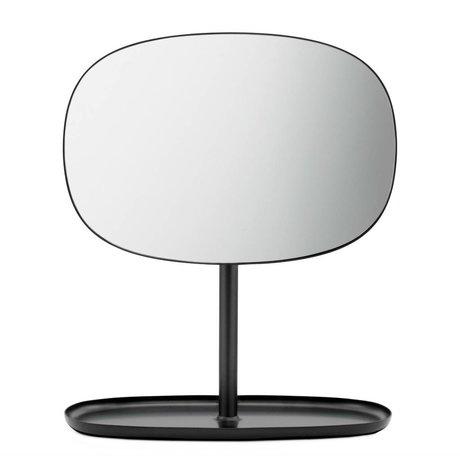 Normann Copenhagen Flip Mirror Mirror black steel 28x19,5x34,5cm