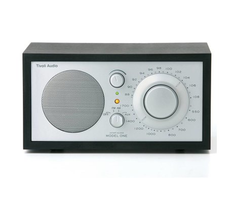 Tivoli Audio Table Radio One black silver 21,3x13,3xh11,4cm