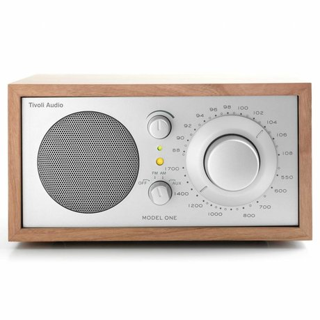 Tivoli Audio Table Radio One cherry silver 21,3x13,3xh11,4cm