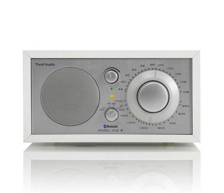 Tivoli Audio Tabelle Radio One Bluetooth weiß silber 21,3x13,3xh11,4cm