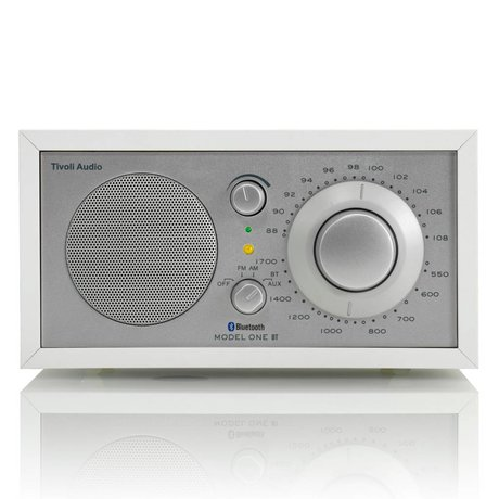 Tivoli Audio Tableau Radio One Bluetooth 21,3x13,3xh11,4cm blanc argenté