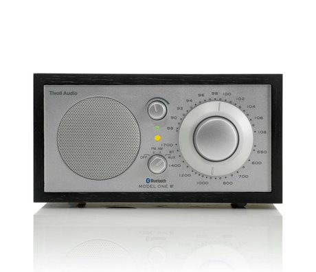 Tivoli Audio Tableau Radio One Bluetooth 21,3x13,3xh11,4cm d'argent noir