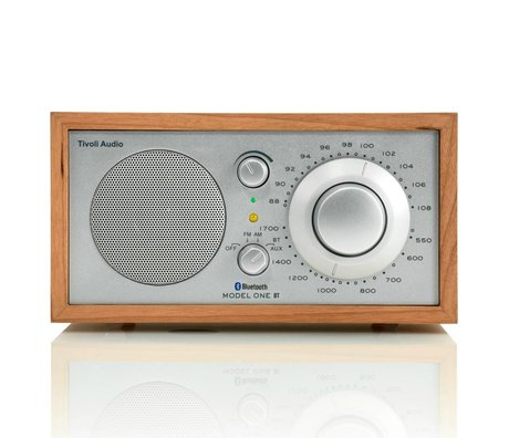 Tivoli Audio Table Radio One Bluetooth cherry silver 21,3x13,3xh11,4cm