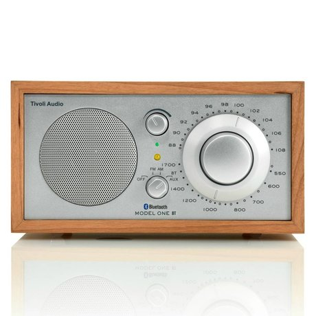 Tivoli Audio Tafelradio One Bluetooth cherry zilver 21,3x13,3xh11,4cm