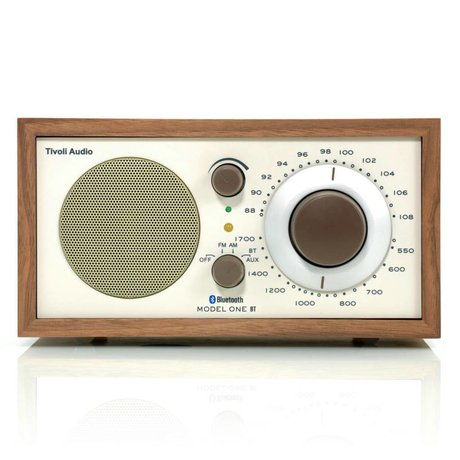 Tivoli Audio Tableau Radio One Bluetooth Noyer beige 21,3x13,3xh11,4cm